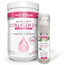 AGEOFF Collagen 2.0 & Collagen Peptide Facial Serum                                                                    *Use BEST HEALTH CODE at checkout*