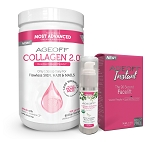 AGEOFF Collagen 2.0 AGEOFF Peptide & Instant Combo Pack