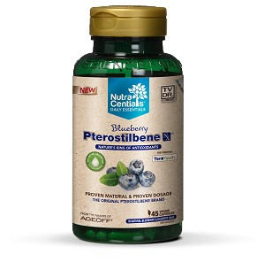 Blueberry Pterostilbene Nx with TeroYouth®, 45 Veggie capsules
