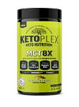 KetoPlex MCT 8X - Medium Chain Triglyceride Ketogenic Fat Bomb | AUTOSHIP