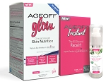 AgeOFF Glow Peptide and Instant Skin Renewal Combo